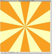 Meme Background Generator - classic starburst background effect in photoshop