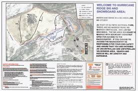 Olympic National Park Map Ski And Snowboard At Hurricane Ridge In Olympic National Park My