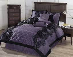 black and purple comforter bedding u2013 ease bedding with style