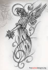 tattoos wings guardian and st michael designs