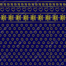royal blue wrapping paper gift wrapping paper in royal blue and golden color stock vector