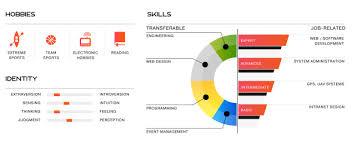 user own network visualization experience chronogram resume