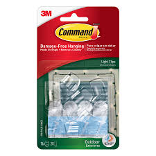 Lowes Outside Decorations For Christmas by Shop Command 16 Pack Clear Adhesive Hooks At Lowes Com