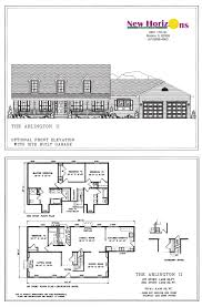 New Homes Floor Plans Model Homes U0026 Floor Plans Marion Il New Horizons Homes Inc