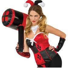 Halloween Costumes Harley Quinn Harley Quinn Inflatable Mallet Halloween Costume Accessory
