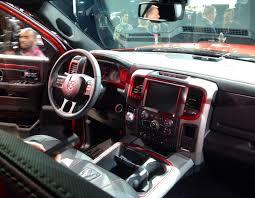 Rebel Mud Truck - ram1500 interior uconnect climate control thumb mud mats 2015