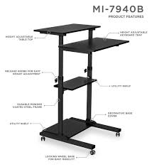 table extraordinary stand up desk attachment 52534 71lv8o