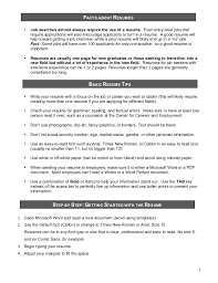 Resume For New Job by Resume
