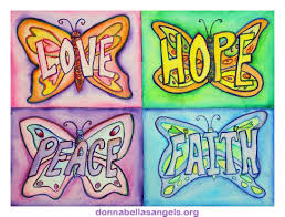 the inspirational butterfly word painting is available on many