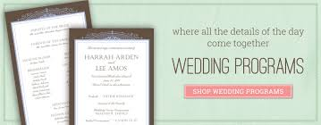 wedding bulletins wedding programs diy wedding bulletins program fans you print