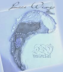 wire lace muchocrafts diy lace wire wings tutorial