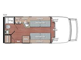 Type B Motorhome Floor Plans Bt Cruiser Motor Home Class B Rv Sales 6 Floorplans