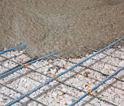 electric slab heating in floor heating heated flooring