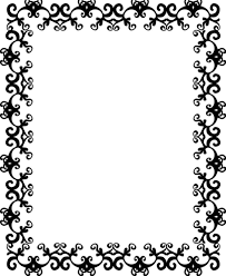 Design Black And White Design Black And White Pattern Border