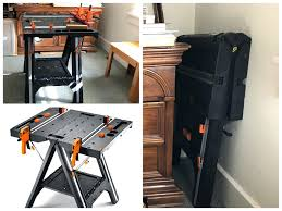 folding work table home depot worx pegasus home depot workbenches workbench accessories garage