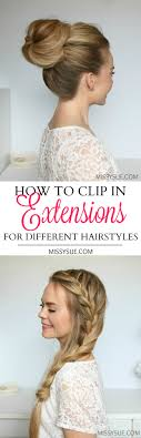 clip snip hair styles hair extensions archives missy sue