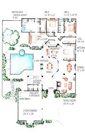 pool home plans house plans with a pool fancy design 14 indoor swimming pools tiny
