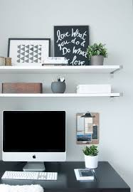 decorate office shelves wonderful inspiration desk shelves impressive decoration best 20