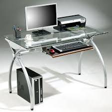 metal computer desks workstations enterprises tempered glass top frame computer desk computer desk