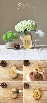 table numbers for wedding top 10 diy wedding table number ideas with tutorials