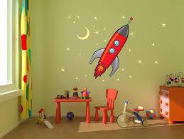 nursery rocket wall decals simple great wallpaper planet jupiter