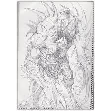 demon zombies original a4 pencil drawing u2014 the art of austen mengler