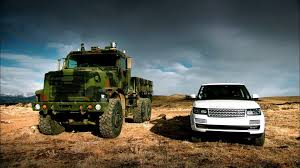 land rover truck james bond terminator