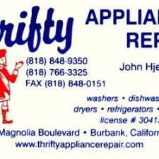 Appliance Business Cards Thrifty Appliance Repair 10 Photos U0026 61 Reviews Appliances