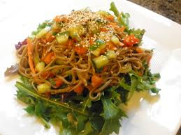 cold sesame coconut noodle salad recipes for chinese salads