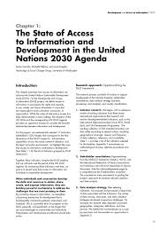 how to write appendix in research paper development and access to information chapter 1 the state of chapter 1 the state of access to information and development in the united nations 2030 agenda