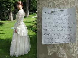 wedding dress ebay this donated his late s wedding dress to be sold on ebay