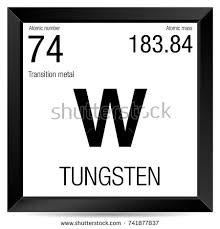 Tungsten Periodic Table Periodic Table Element Vanadium Stock Vector 467238722 Shutterstock