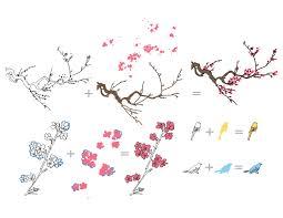 the cherry blossom tree st set altenew