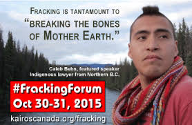 Caleb Meme - kairos forum on fracking in vancouver moncton kairos canada