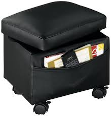 storage ottoman on wheels amazon com walterdrake flip top storage ottoman kitchen dining