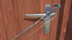 How To Remove Bedroom Door Knob Without Screws 6 Easy Ways To Open A Locked Door Wikihow