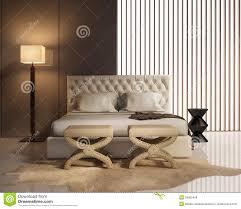 chambre a coucher de luxe chambre à coucher de luxe élégante contemporaine avec le lit en