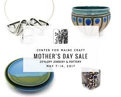 mothers day jewelry sale annual s day sale may 7 14 maine crafts association