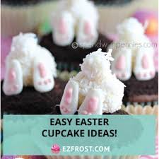 Easter Cupcake Decorations Easy by Easy Easter Cupcake Ideas Ez Frost