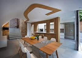 Interior Designs In Home Decor Home Designs Stylish Extension Features Spacious Wall