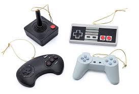 classic controller ornament set the coolest stuff