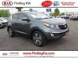 New And Used Cars Certified by New And Used Kia Sportage For Sale In Las Vegas Nv U S News