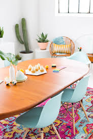 a joyful and modern dining room for summer sugar u0026 cloth
