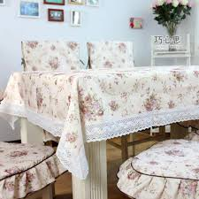 dining table cloth chair cover cushion chair pad tablecloth multi