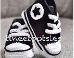 pattern crochet converse slippers free crochet pattern for baby converse shoes dancox for