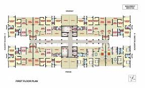 2 3 bhk cluster plan image nanded city development and