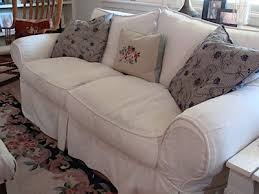 Slipcovers Made From Drop Cloths Fresh And Frugal Cottage Ideas Part 1 A Better Homes And Garden