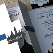 wedding invitations ottawa bytown skyline wedding invitations by designs