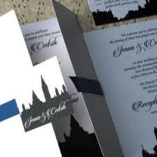 Wedding Invitations Ottawa Bytown Skyline Wedding Invitations By Daisy Designs