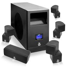home theater systems amazon com amazon com pyle home phsa5 5 1 home theater system with active